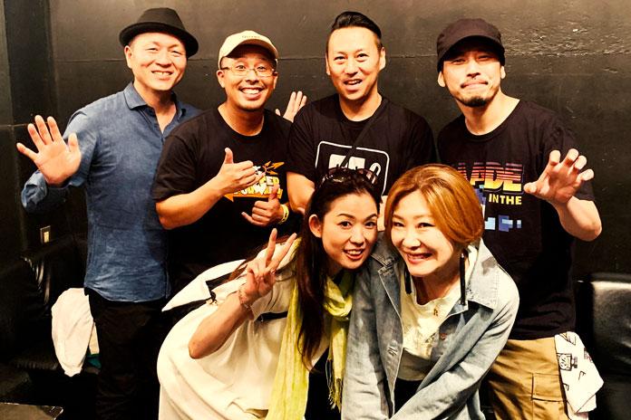 RYO the SKYWALKER ライブ終了後 @HARLEM楽屋(東京・渋谷)