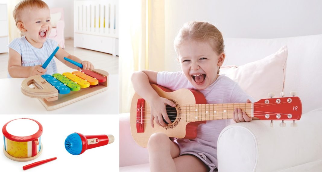ドイツ生まれの知育玩具Hapeの楽器おもちゃ