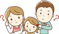 子どもの対処法に悩む家族