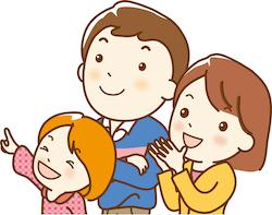 子どもの自主性を大切にする家族