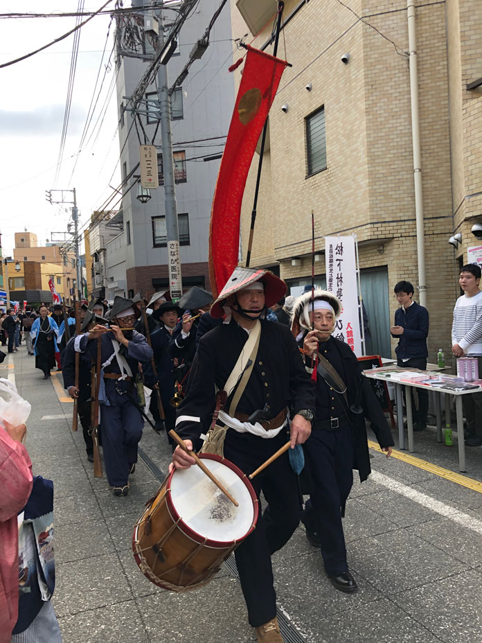幕末維新祭り パレード