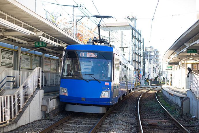 東急世田谷線 電車の車両