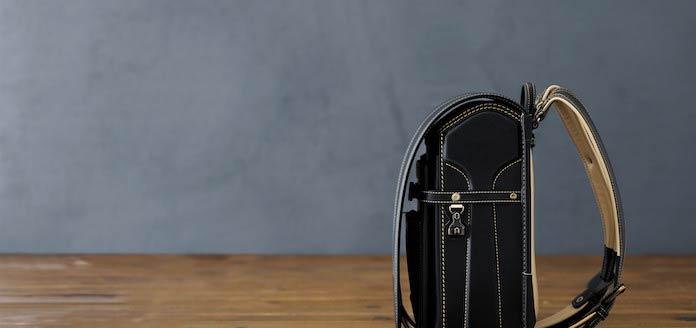 土屋鞄製造所の黒のランドセル 2021年モデル
