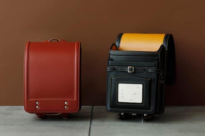 土屋鞄製造所、黒と赤のランドセル