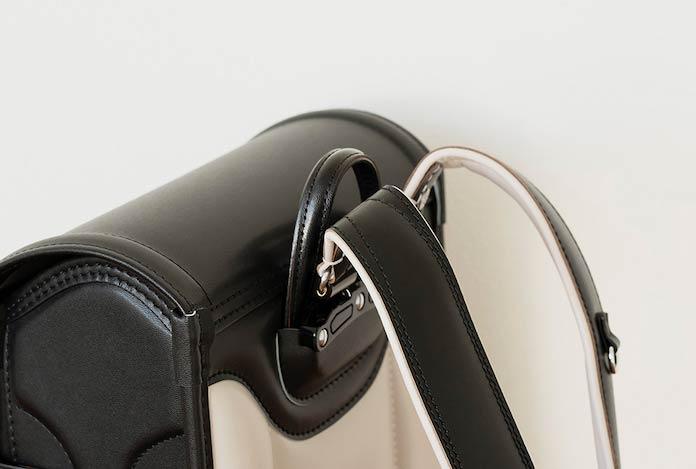 土屋鞄製造所のランドセル 持ち手部分