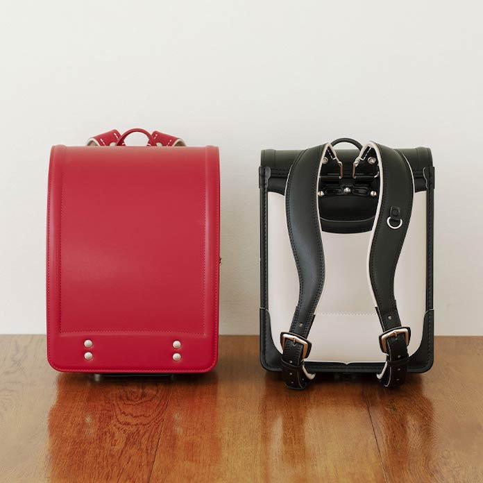土屋鞄製造所のランドセル 赤と黒