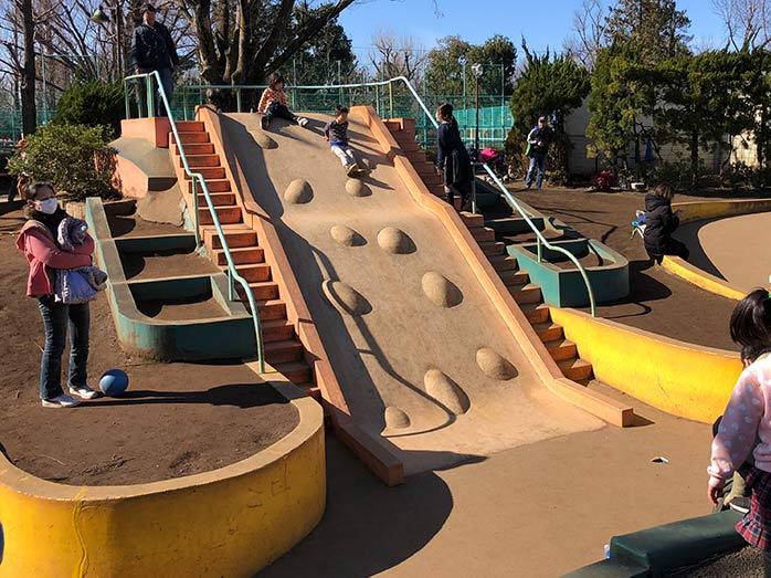すべり台 羽根木公園
