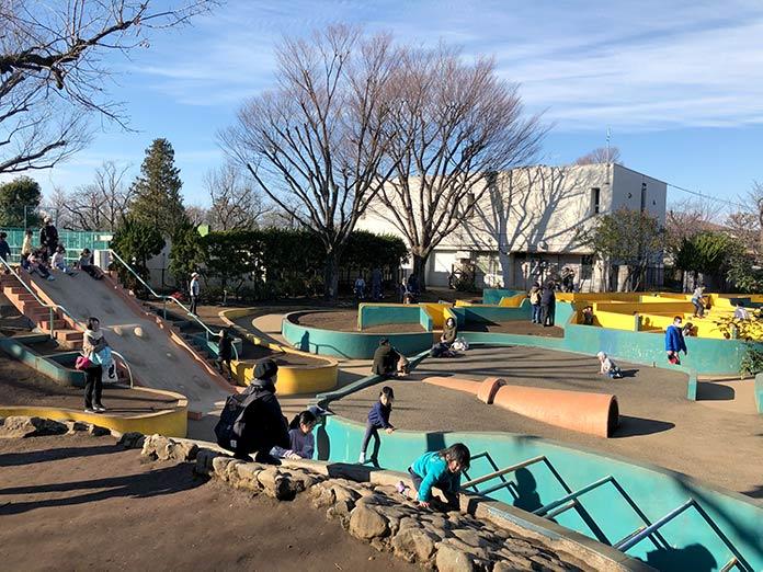 遊具の外観 羽根木公園