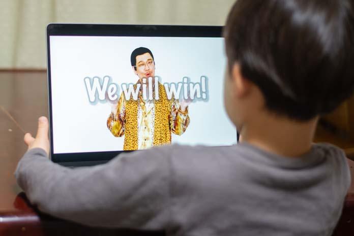ピコ太郎 We will win!