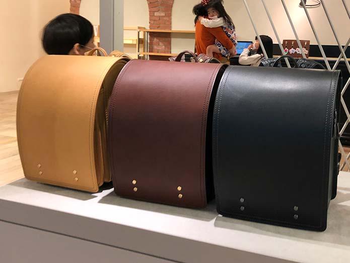 土屋鞄のヌメ皮のランドセル