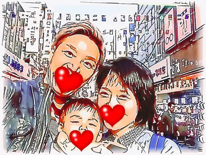 家族で韓国旅行