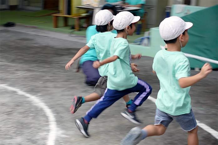かけっこ 保育園運動会5歳児クラス(年長)