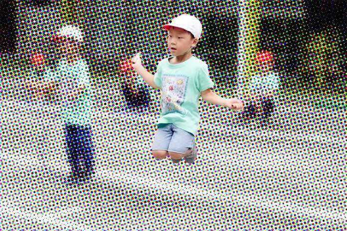 なわとび 保育園運動会5歳児クラス(年長)