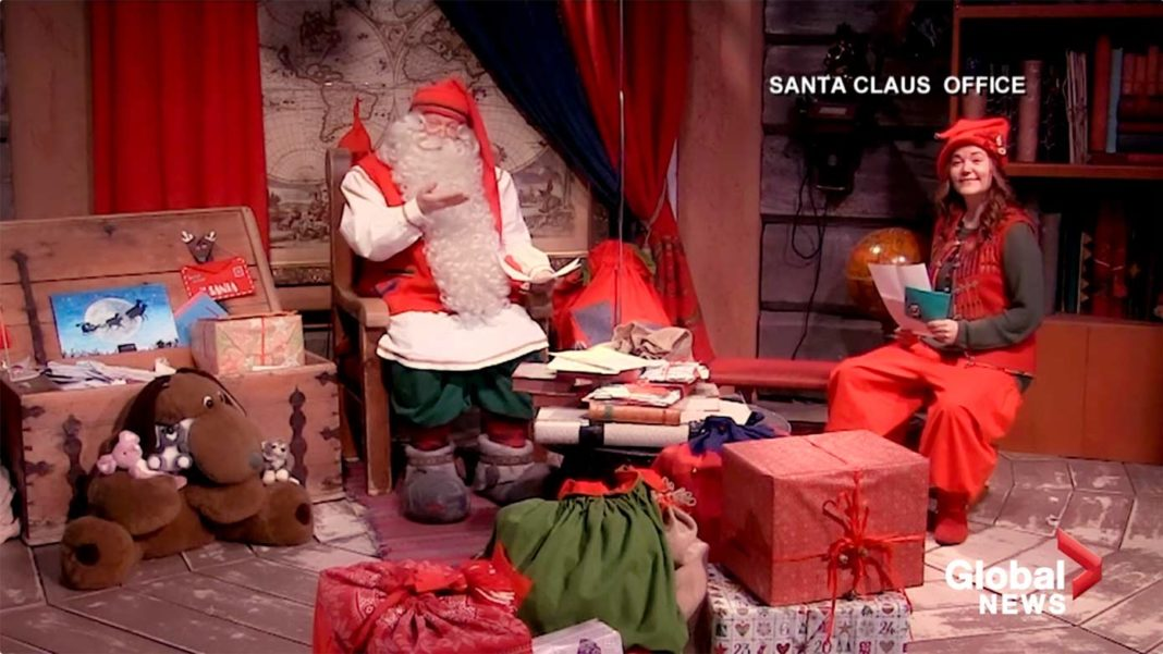 サンタクロースとエルフ