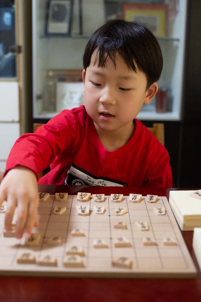 6歳児と将棋対局