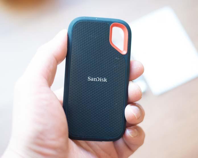 SanDisk 外付けSSD SDSSDE61-1T00-GH25