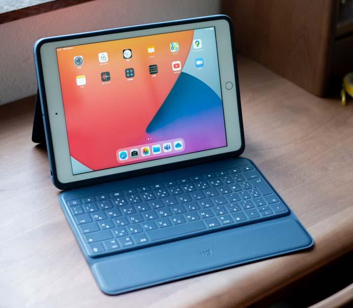 iPadにRuggage Combo 3を装着